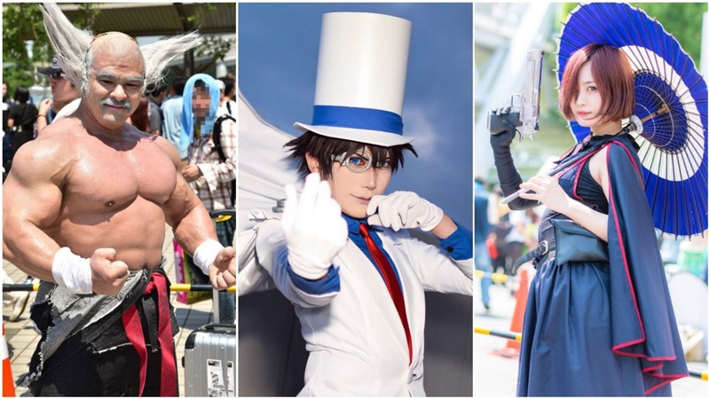 những đặc sắc trong lễ hội cosplay Nhật Bản