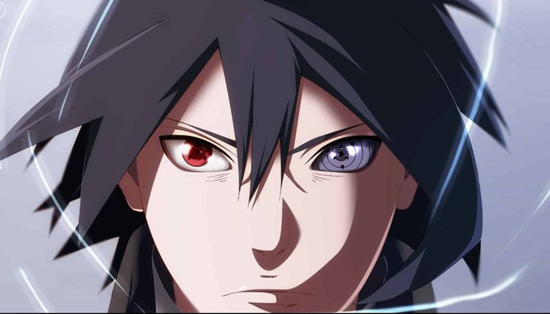Sharingan và rinnegan kết hợp của Sasuke