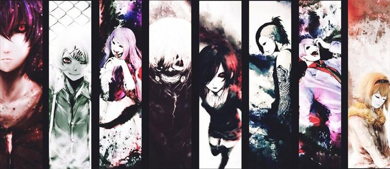 Các nhân vật trong Tokyo Ghoul