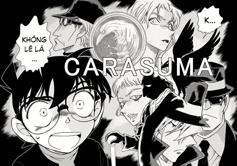 Chap 1008 Conan cho thay ông trùm là Karasuma Renya