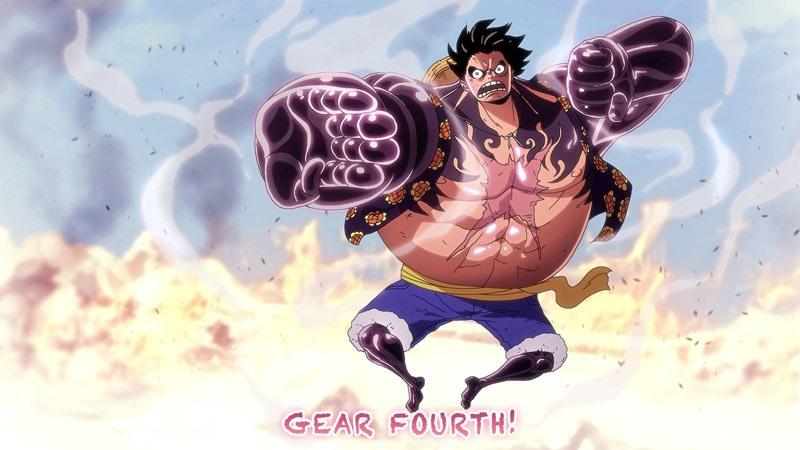 Gear Fourth của Luffy