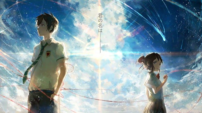 Kimi No Na Wa Anime tình cảm hay