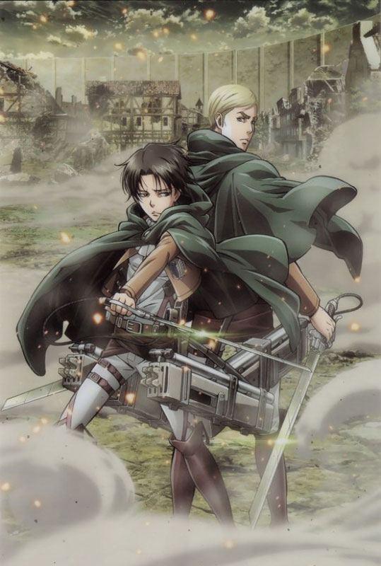 mối quan hệ giữa Levi và Erwin