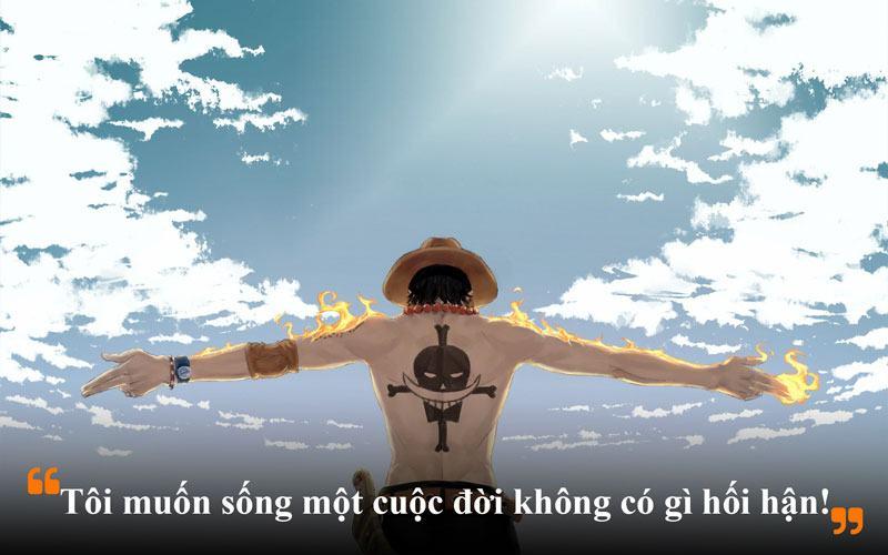 Những câu nói hay của Ace trong One Piece