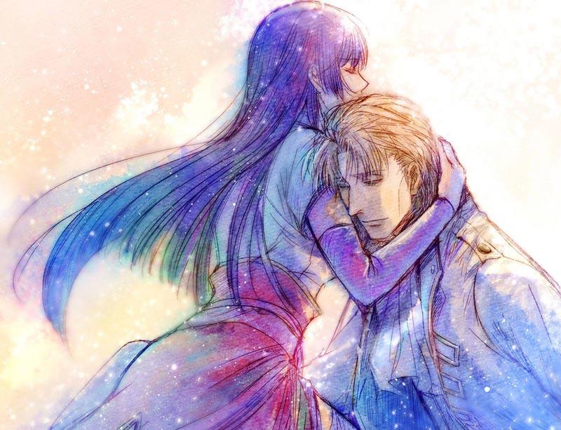 cặp đôi anime manga Imai Nobume và Sasaki Isaburo
