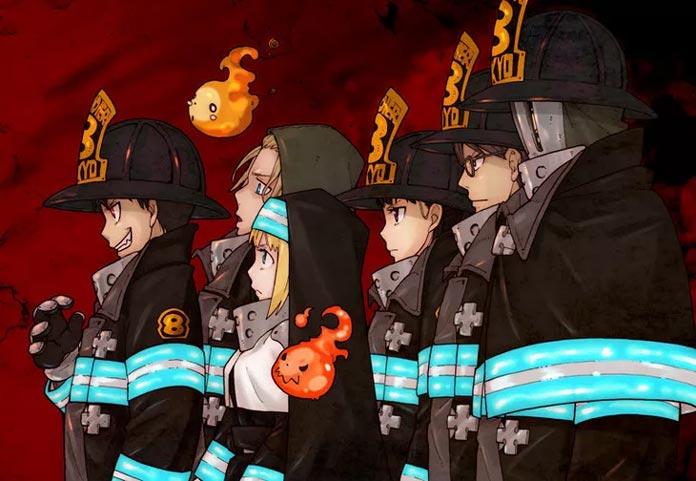 Enen no Shouboutai Anime tháng 7 2019