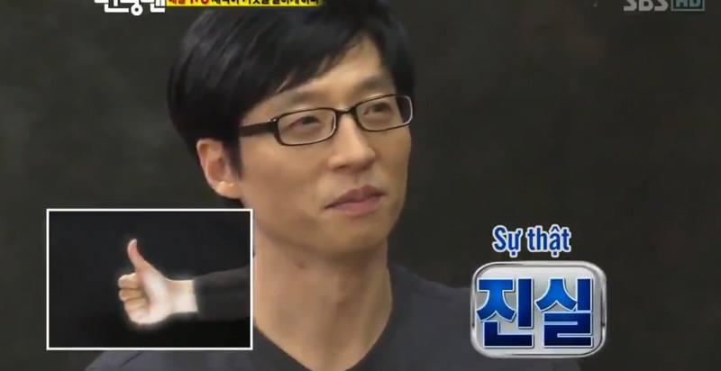yoo jae suk sự thật sẽ khiến người khác bối rối