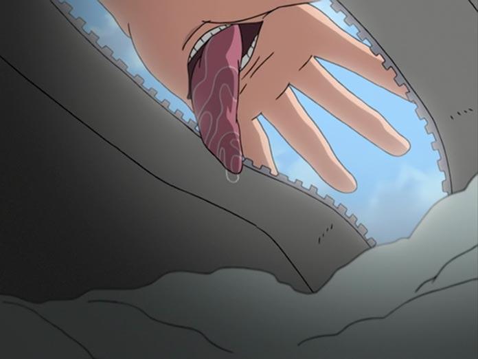Cái miệng trên lòng bàn tay của Deidara