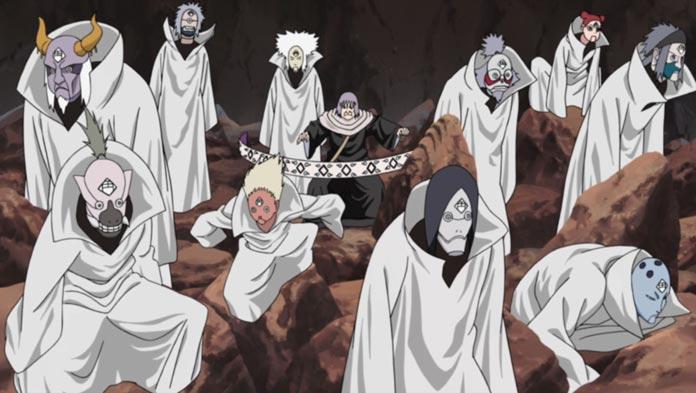 Chiyo sử dụng mười con rối của Chikamatsu
