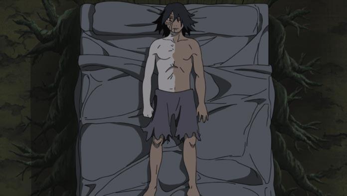 Cơ thể biến đổi của Uchiha Obito
