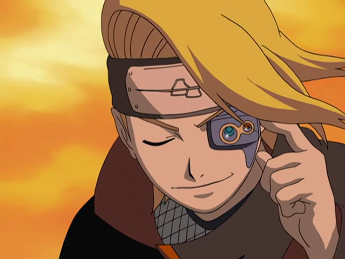 Con mắt tầm xa của Deidara