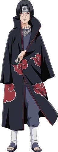 Diện mạo của Itachi sau khi gia nhập Akatsuki
