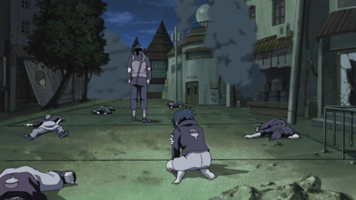 Itachi tàn sát gia tộc Uchiha