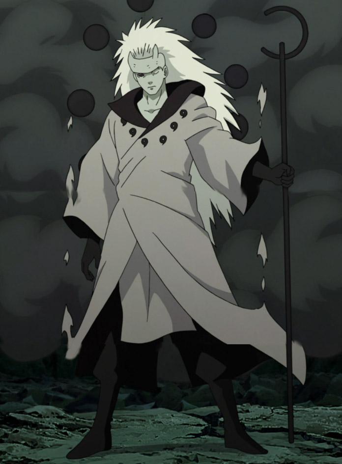 Madara khi trở thành Jinchuriki