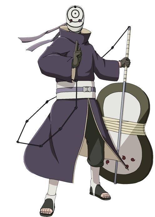 ngoại hình của Obito
