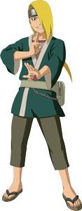 Ngoại hình Deidara trước khi gia nhập Akatsuki
