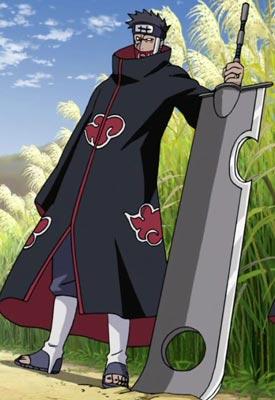 Ngoại hình của Juzo sau khi gia nhập Akatsuki