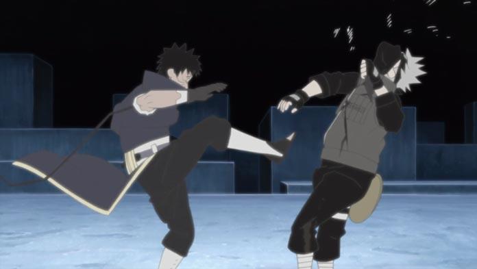 Obito đụng độ với Kakashi trong cuộc chiến tay đôi