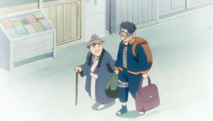 Obito giúp một người dân cao tuổi