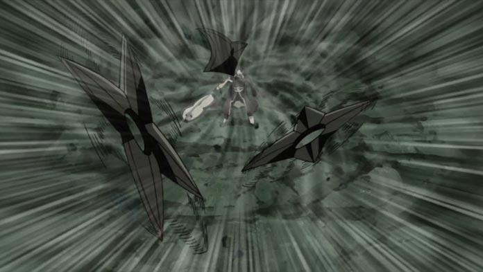 Obito sử dụng Shuriken
