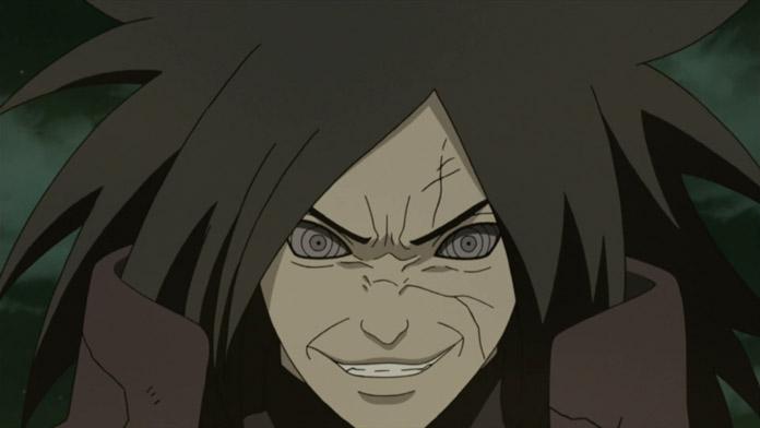 Phản ứng của Madara khi biết Hashirama sắp đến.