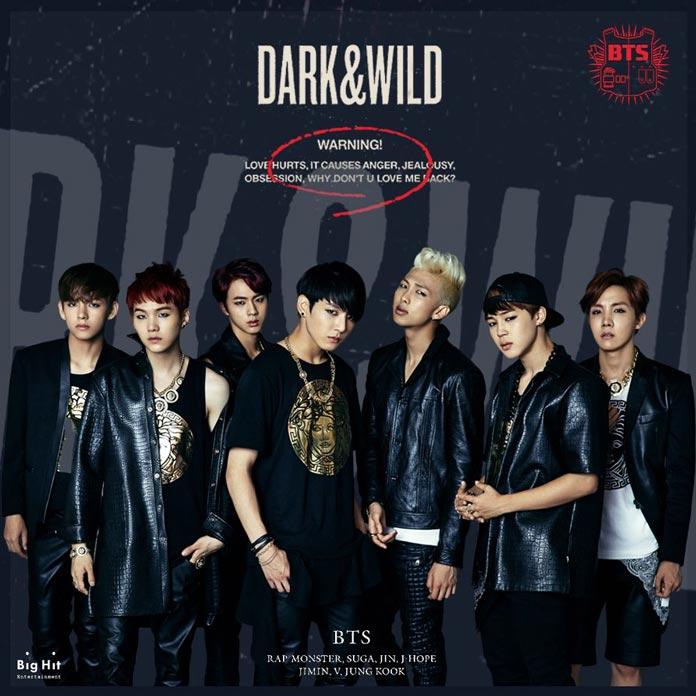 Album DARK&WILD của BTS
