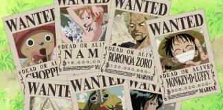bảng tiền thưởng truy nã của các nhân vật trong One Piece mới nhất