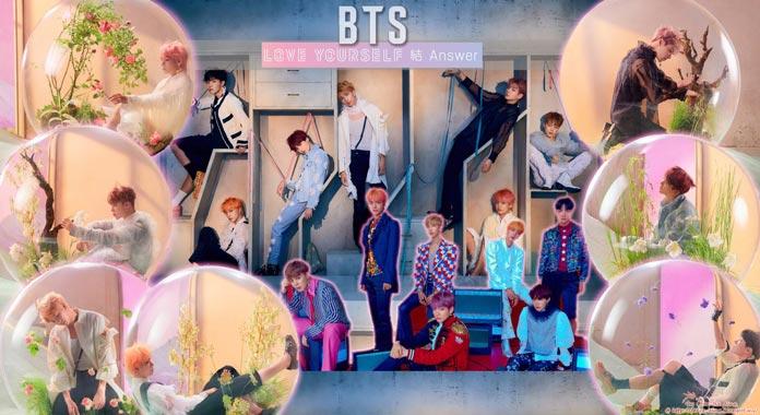 nhũng bài hát của BTS