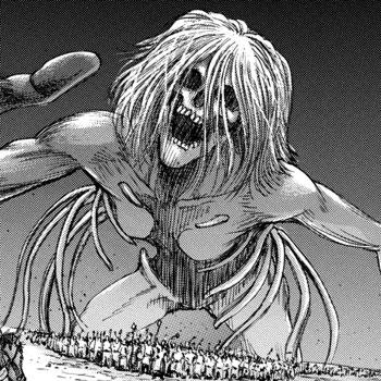 Ngoại hình Titan của Ymir