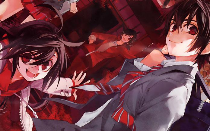 Kure-nai Manga hành động hay nhất