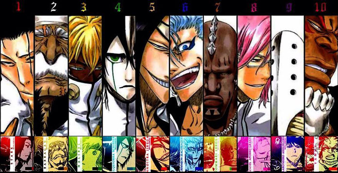 The Espada trong Bleach