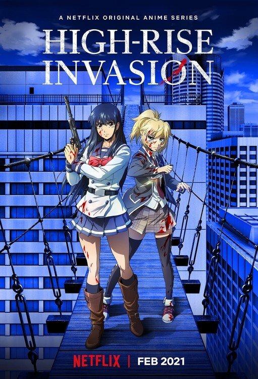 Anime chuyển thể từ Manga kinh dị sinh tồn High-Rise Invasion sẽ được phát hành vào tháng 2 năm 2021
