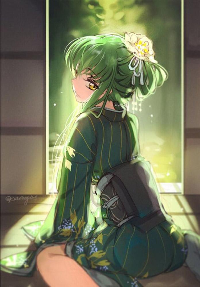 Nữ thần Anime C.C - Code Geass