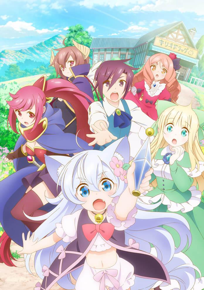 Anime Cheat Kusushi no Slow Life: Isekai ni Tsukurou Drugstore công bố thời điểm phát sóng, dàn diễn viên, nhân sự