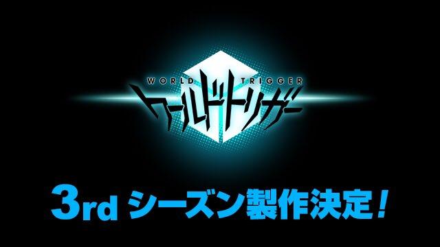 Anime World Trigger mùa 3 đang được thực hiện