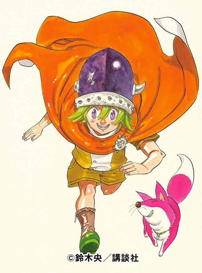 Phần tiếp theo của Manga Thất Hình Đại Tội sẽ ra mắt ngày 27/01