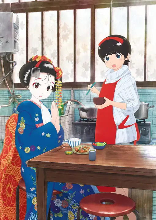 Anime Maiko-san Chi no Makanai-san sẽ công chiếu vào 25/02, tiết lộ dàn diễn viên và nhân viên