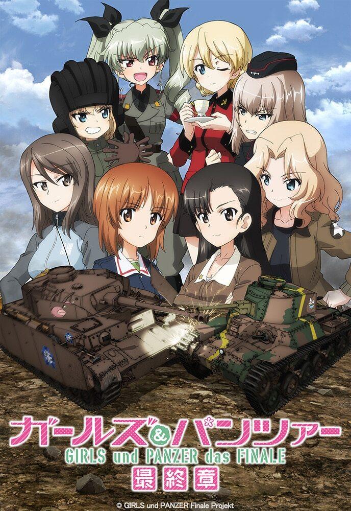 Anime movie 3rd Girls & Panzer das Finale hé lộ trailer, khởi chiếu ngày 26 tháng 3