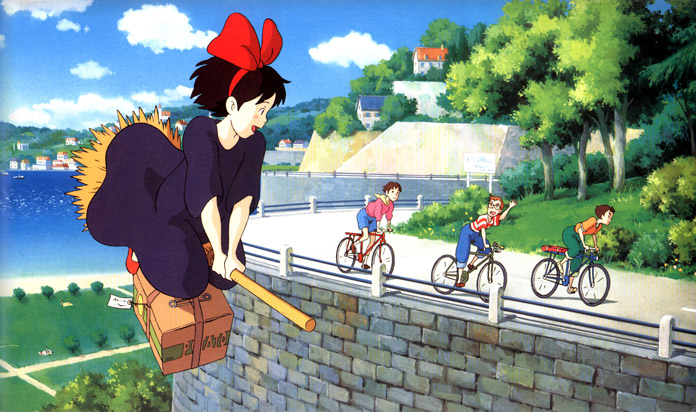 Majo no Takkyuubin (Kiki's Delivery Service)