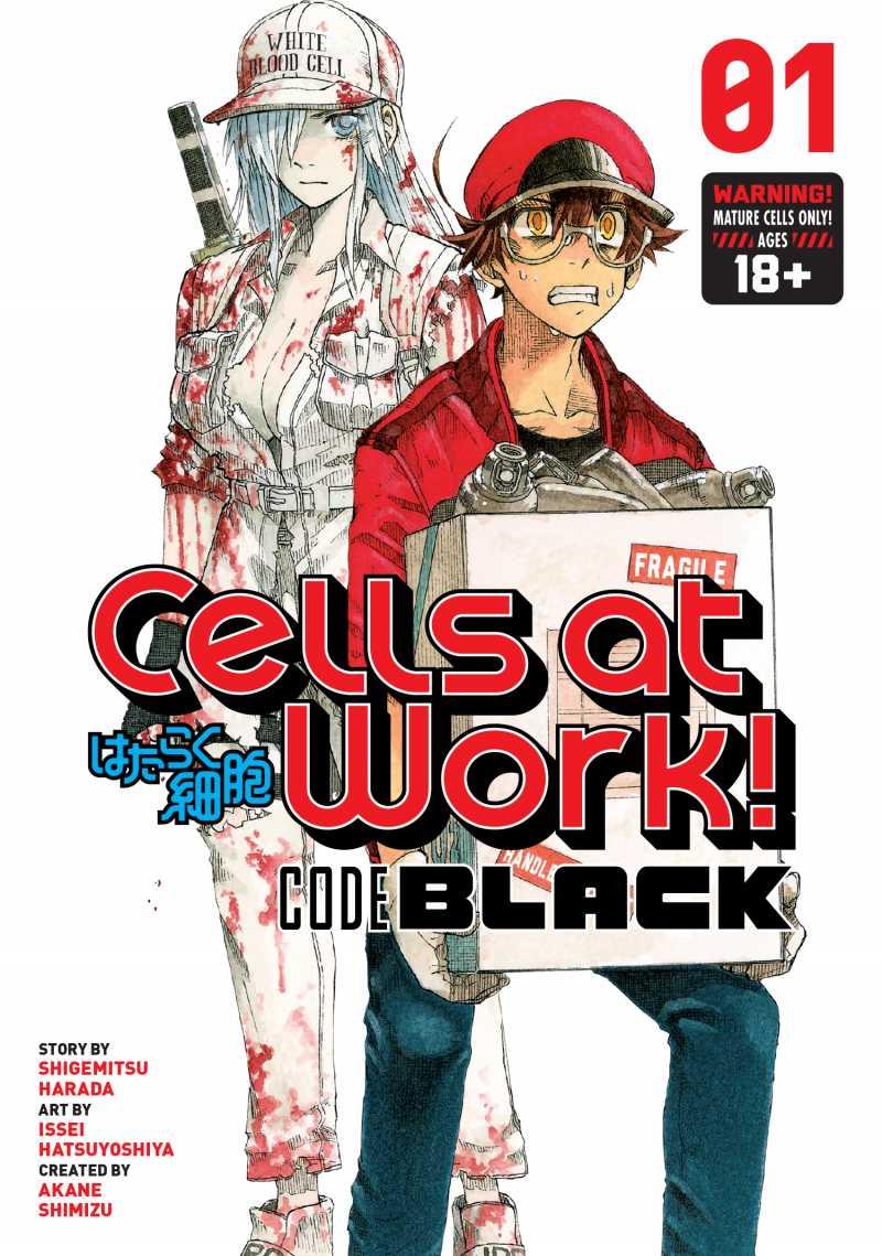 Manga Cells at Work! Code Black sẽ kết thúc vào ngày 21 tháng 1