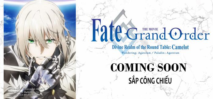 Odex được cấp phép Movie Fate/Grand Order: Camelot sẽ công chiếu tại Việt Nam