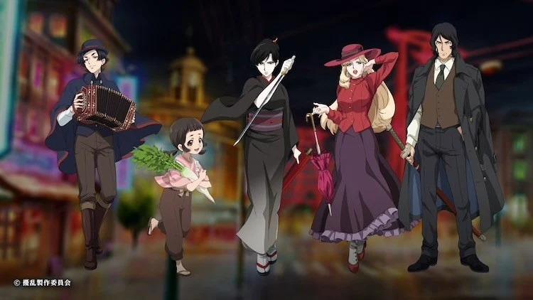 Anime Joran: The Princess of Snow and Blood tiết lộ ra mắt 06/04, dàn diễn viên, nhân sự, cốt truyện