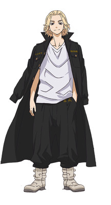 "Yuu Hayashi trong vai Manjirō ""Mikey"" Sano"