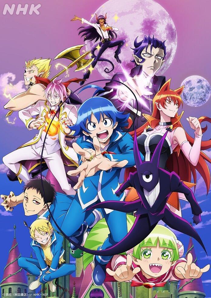 Anime Mairimashita! Iruma-kun Mùa 2 tiết lộ ra mắt 17/04 và bài hát chủ đề mở đầu