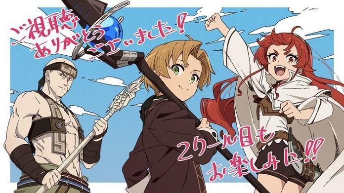 Anime Mushoku Tensei: Jobless Reincarnation sẽ có phần 2
