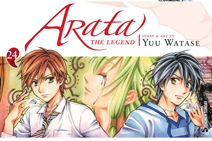 Manga Arata: The Legend của Yuu Watase trở lại vào 19/05, với chương hoàn toàn mới ra mắt vào 07/07