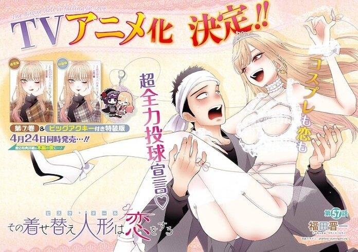 Manga Sono Bisque Doll wa Koi wo Suru xác nhận có Anime truyền hình
