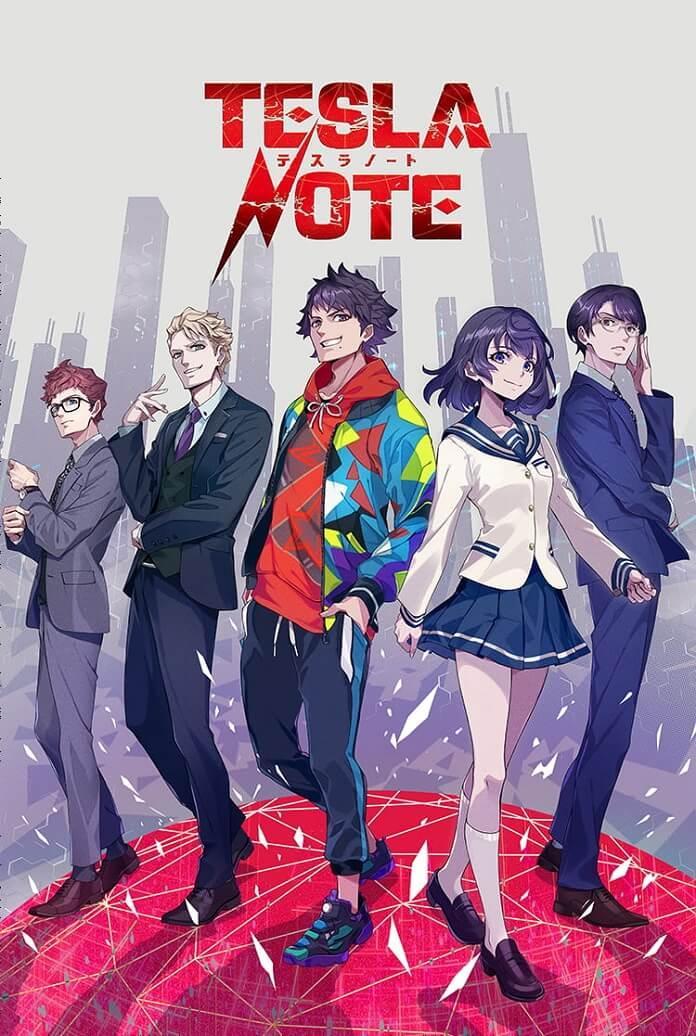 Manga Tesla Note của tác giả Tiger & Bunny sẽ được chuyển thể thành Anime
