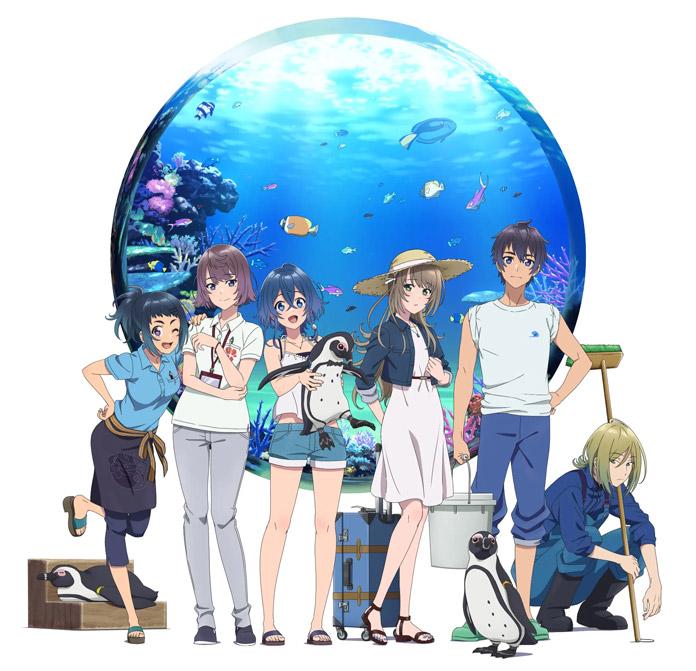 Anime Aquatope of White Sand của P.A. Works hé lộ thêm diễn viên, công chiếu 08/07