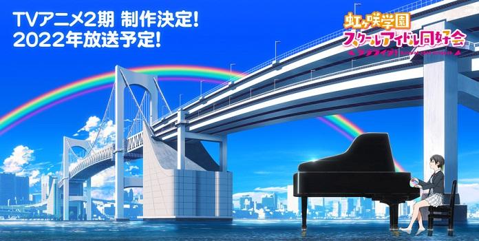 Anime Love Live! Nijigasaki High School Idol Club sẽ có Mùa 2 vào 2022